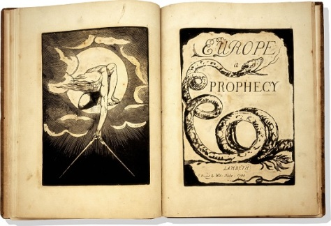 "Los ""Libros Proféticos"" de William Blake"