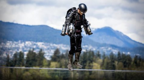 "Gravity Jet Suit: el ""Traje de Iron Man"" de la vida real"